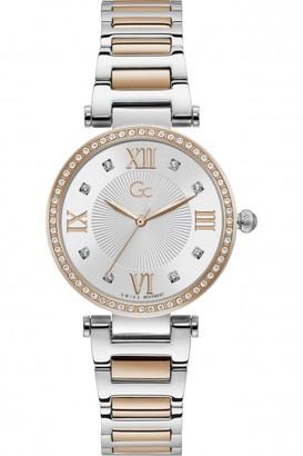 Gc Ladies Ladycrystal Watch Y64001L1MF