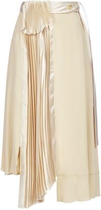 Lanvin Asymmetric Draped Skirt