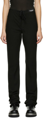 Ann Demeulemeester SSENSE Exclusive Black God Of Wild Pippa Trousers