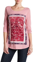 Lucky Brand Long Sleeve Placement Print Tee