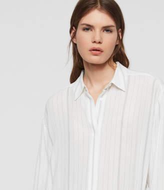 AllSaints Hana Shirt Dress