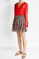 The Kooples Tiered Print Skirt