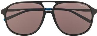 Montblanc Aviator Frame Sunglasses