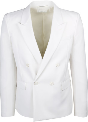 Saint Laurent Double-breasted Tailored Jacket