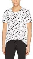 Antony Morato Men's GIROCOLLO Stampa Stelle T-Shirt