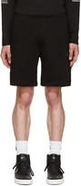 Marcelo Burlon County of Milan Black Reventador Shorts