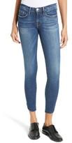 Frame Women's Le Skinny Raw Tulip Crop Jeans