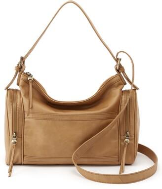 Hobo Founder Leather Convertible Shoulder Bag