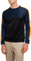 Ami Men Tricolor Crew Neck Sweatshirt