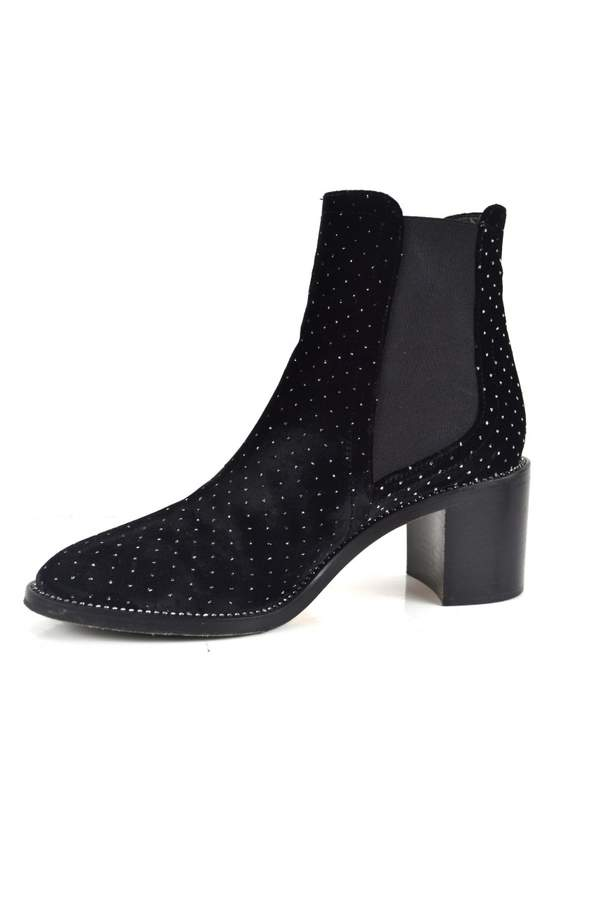 00086750b645 Jimmy Choo Velvet Boots - ShopStyle