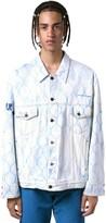 Off-White Off White Fence Regular Cotton Denim Jacket