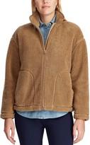 Chaps Women's Faux-Sherpa Crop Jacket