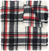 DSQUARED2 plaid scarf - men - Polyamide/Wool/Alpaca - One Size