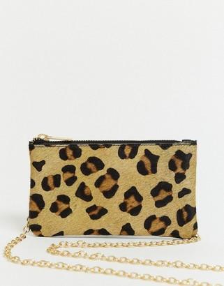 Urban Code Urbancode coin purse in leopard