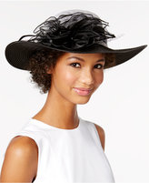 August Hats Calla Lily Down-Brim Hat