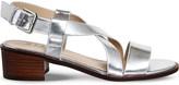 Office Midtown cross-over heeled sandals