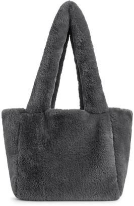 Arket Faux Fur Tote Bag