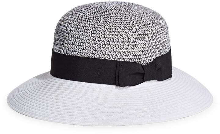 a7a1a5277 Parkhurst Colourblock Bow Panama Hat