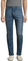 Fendi Cotton Faded Slim Jeans