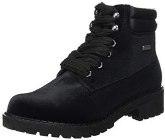 Tamaris Women's 25742 Boots, Black Velvet