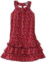 Hartstrings Girls 7-16 Big Printed Sleeveless Dress
