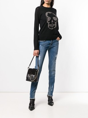 Zadig & Voltaire Distressed Skinny Jeans