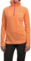 Mountain Hardwear MicroChill Lite Wick.Q® Fleece Shirt - Zip Neck (For Women)