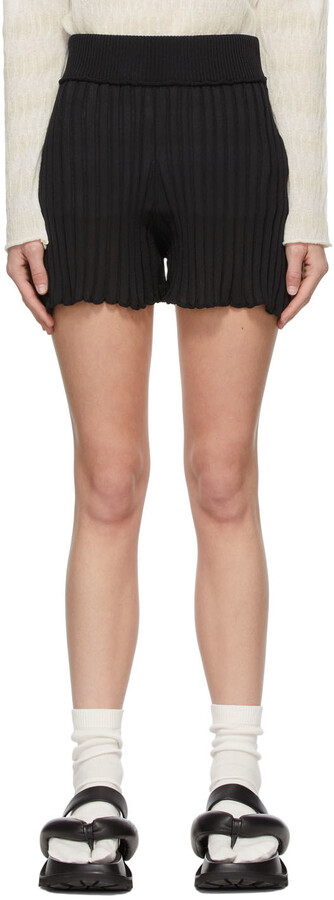 Thumbnail for your product : RUS SSENSE Exclusive Black Matto Shorts