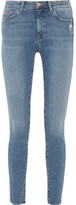 MiH Jeans Bodycon High-rise Skinny Jeans - Mid denim
