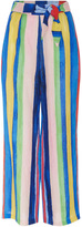 Mara Hoffman Rainbow Stripe High Waist Pants
