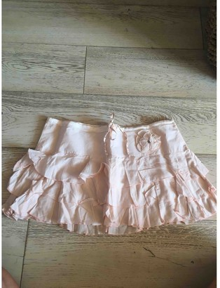 Abercrombie & Fitch Pink Cotton Skirt for Women