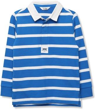M&Co Striped rugby shirt (9mths-5yrs)