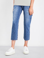 Vince Cargo cropped high-rise jeans
