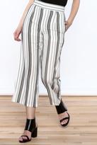 Very J Stripe Wide Leg Pants