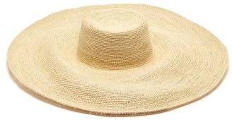 Greenpacha Mallorca Toquilla-straw Hat - Womens - Beige