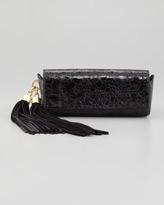 Z Spoke Zac Posen Claudette Tassel Clutch Bag, Black