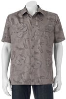 Croft & Barrow Big & Tall Quick-Dry Easy-Care Outdoor Print Button-Down Shirt