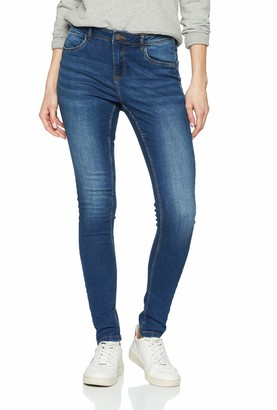 Noisy May Women's Nmjen Nw S.s Shaper Jeans Vi021mb Noos Skinny