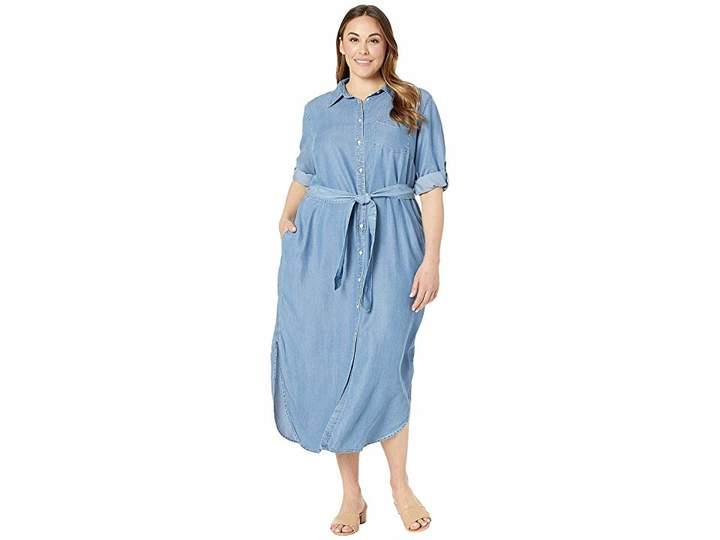 Plus Size Denim Dress - ShopStyle