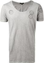 Unconditional Shotgun scoop neck T-shirt - men - Cotton - XS
