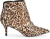 Charles by Charles David Albuquerque Animal-Print Calf Hair Booties