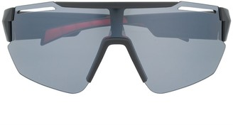 Tommy Hilfiger Oversized Frame Tinted Sunglasses