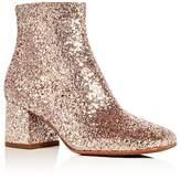 Ash Women's Electra Glitter Block Heel Booties