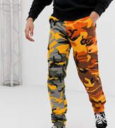 Reclaimed Vintage spliced camo cargo trouser