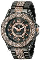 XOXO Women's XO5738 Analog Display Analog Quartz Two Tone Watch