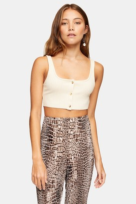 Topshop Womens **2 Pack Black And White Bralet - Monochrome