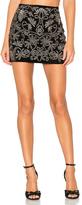 Alice + Olivia Elana Embroidered Skirt
