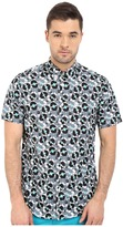 Ben Sherman Short Sleeve Record Print Woven MA12409A