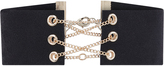 Accessorize Chain Corset Choker Necklace
