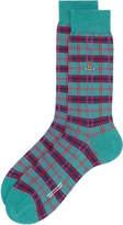 Jade Check Socks Multi Size L